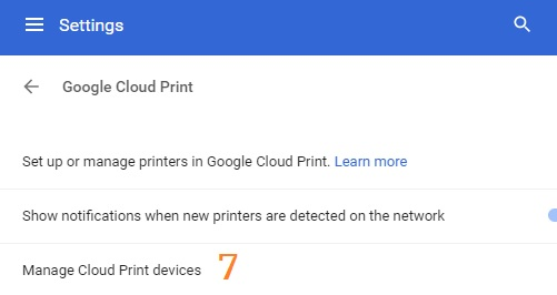 how to change print settings in chrome
